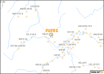 map of Purag