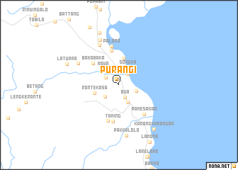 map of Purangi