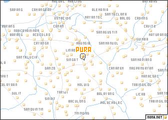 pura philippines map nonanet