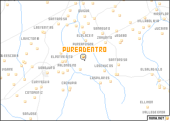 map of Pure Adentro