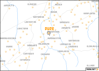 map of Pure