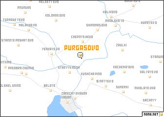 map of Purgasovo