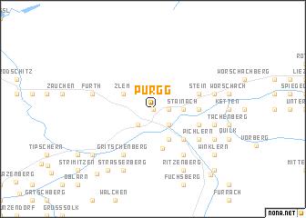 map of Pürgg