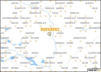map of Purkarec