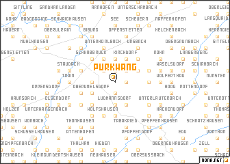 map of Pürkwang