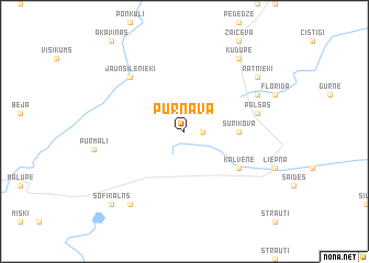 map of Purnava