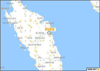 map of Puro