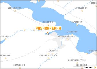 map of Pushkarëvka