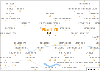 map of Pustaya