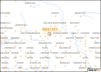 map of Pustiny