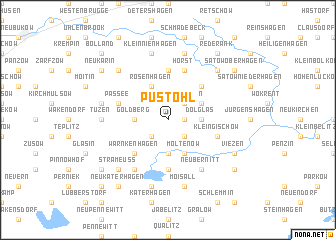 map of Pustohl
