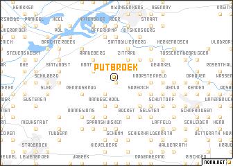map of Putbroek