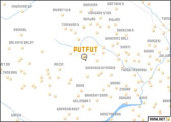 map of Pūt Fūt