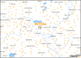 map of Putkaj