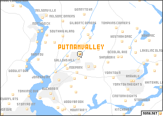 map of Putnam Valley