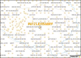 map of Putzleinsdorf