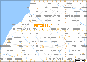 map of Pu-tzu-ts\