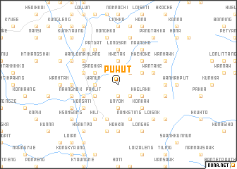 map of Pu Wut