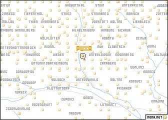 map of Puxa