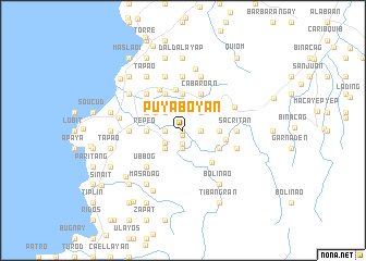 map of Puyaboyan