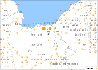 map of Puypuy