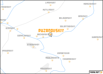 map of Puzanovskiy