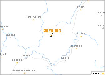 map of Puziling