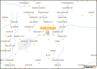 map of Pwekawk