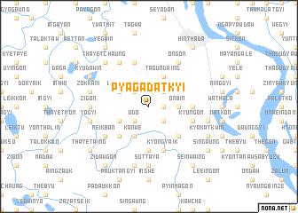 map of Pyagadatkyi