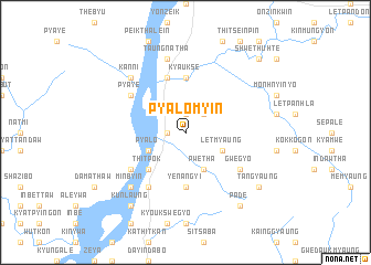 map of Pyalomyin