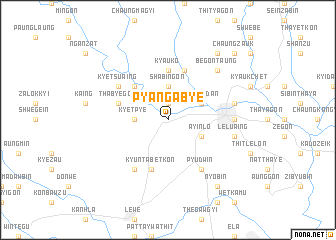 map of Pyangabye