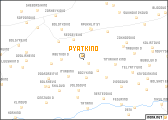 map of Pyatkino