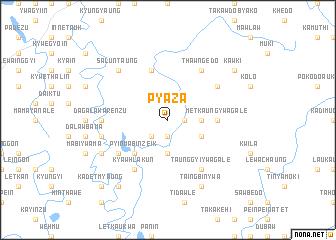 map of Pyaza