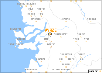 map of Pyaze