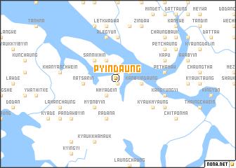 map of Pyindaung