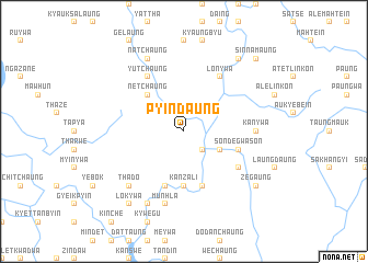 map of Pyindaung