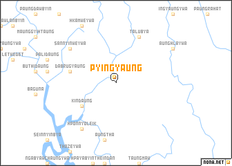 map of Pyingyaung