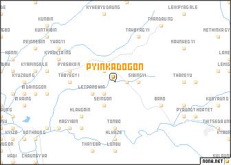 map of Pyinkadogon