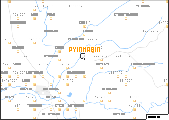 map of Pyinmabin