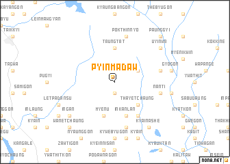 map of Pyinmadaw