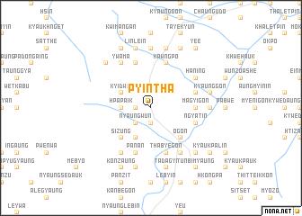 map of Pyintha