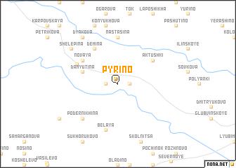 map of Pyrino