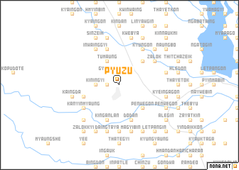map of Pyuzu