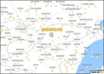 map of Qādar Dīno