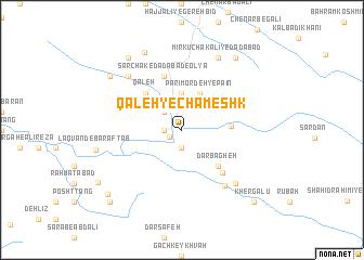 map of Qal'eh-ye Chameshk