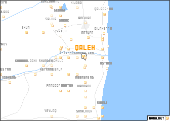 map of Qal\