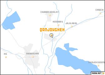 map of Qanjowgheh