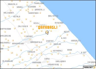 map of Qarabağlı