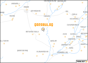 map of Qarabulaq