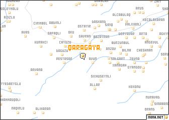 map of Qaragaya